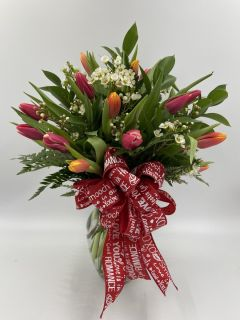 Thirty Tulip Bouquet