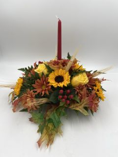 Small Fall Centerpiece