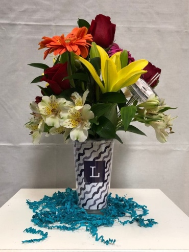 Arrangement in Personalized Cup